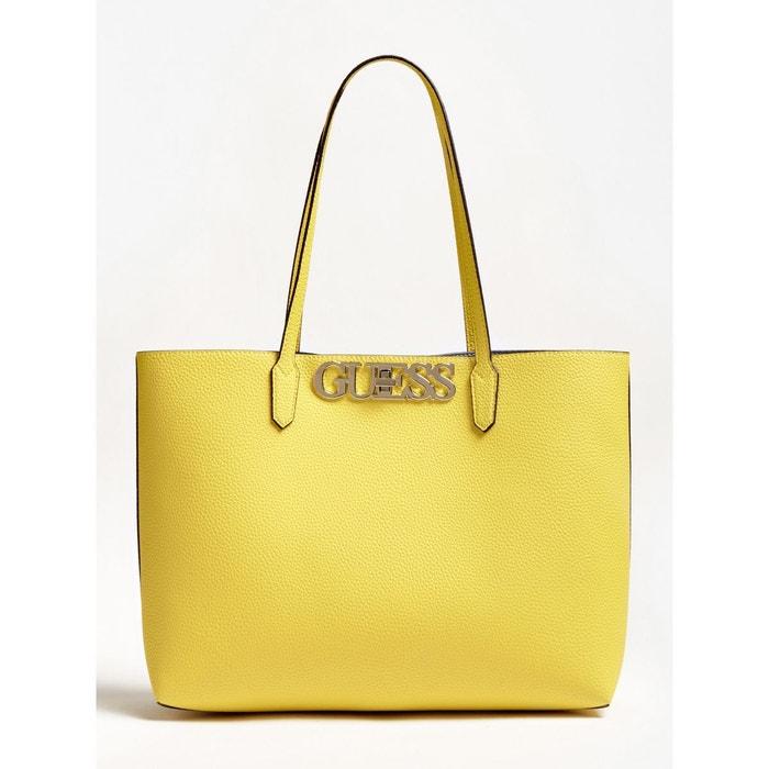 Guess — Cabas Uptown Chic Pochette Logo Vert Femme Sacs