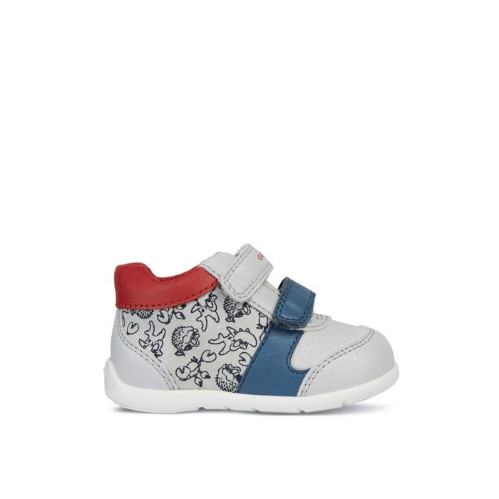 Atmungsaktive sneakers elthan graurot Geox | La Redoute