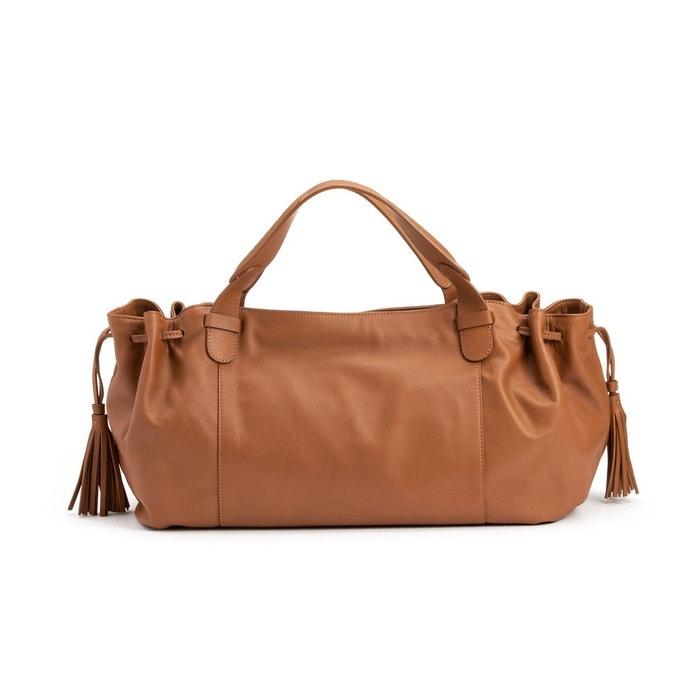 sac bandouliere cuir marron femme gerar darel