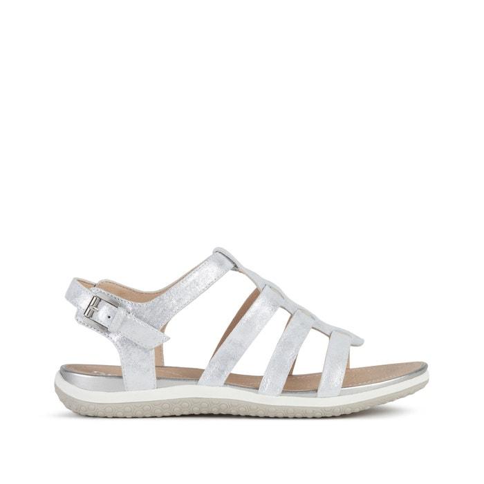 Vega leather sandals Geox   La Redoute