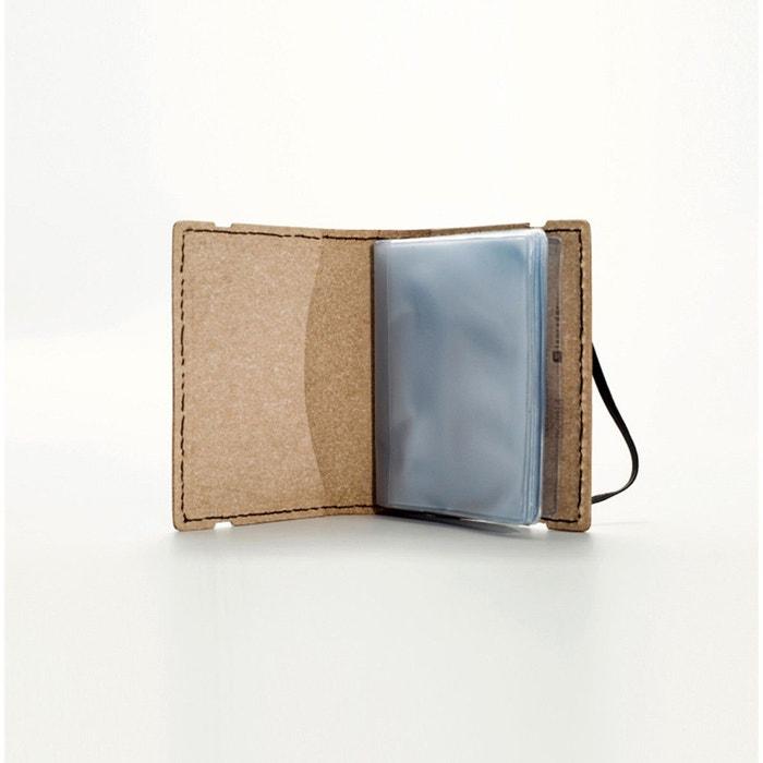 Porte cartes Vespa souple noir