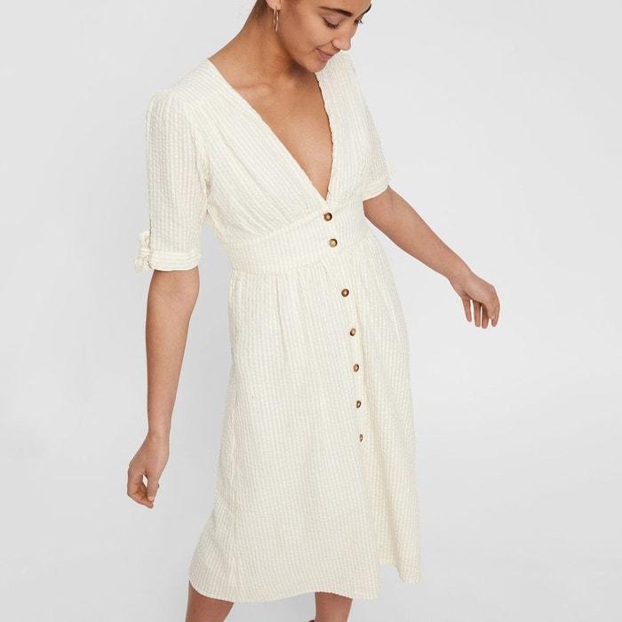 robe blanche La Redoute