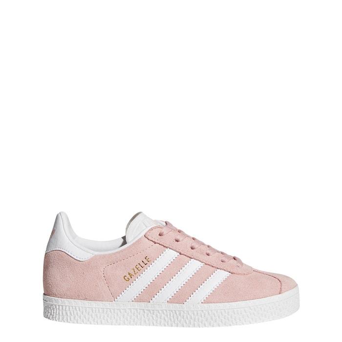 Baskets gazelle c Adidas Originals rose pale | La Redoute