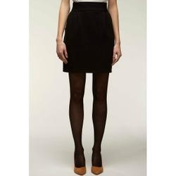 Falda corta con cintura elástica