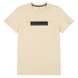 Camiseta con texto estampado en el pecho 10-18 años