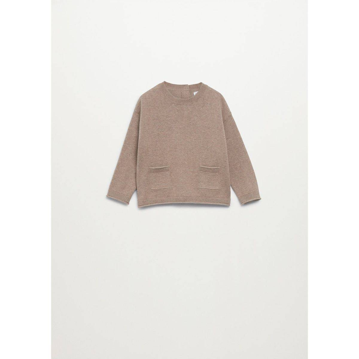 Pull-over en maille poches
