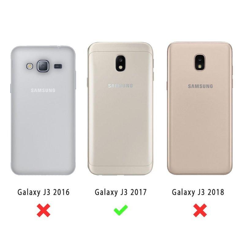 Coque samsung galaxy j3 2017 souple silicone transparente un peu ...