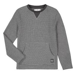 Camiseta de manga larga a rayas de algodón orgánico 3-12 años