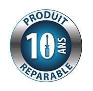 Pièces détachées garanties disponibles pendant 10 ans