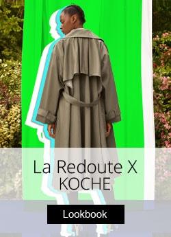 Коллаборация La REDOUTE X Koche>>