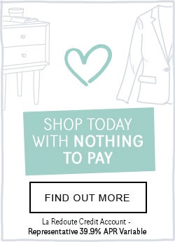 La Redoute Credit Account - Shop Today With Nothing To Buy