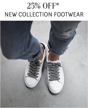 25% OFF New Collection Footwear