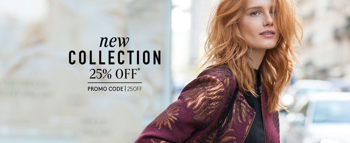 25% OFF New Collection