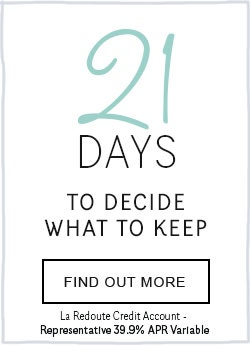 La Redoute Credit Account - 21 Days To Decide What To Keep