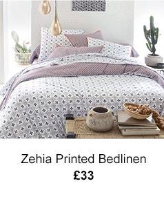 Zehia Printed Bedlinen