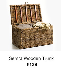 Semra Wooden Trunk