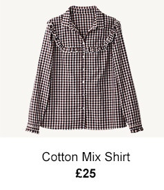 Cotton Mix Shirt - £25