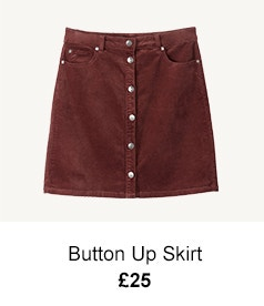 Button Up Skirt - £25