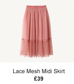 Lace Mesh Skirt