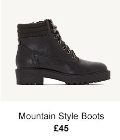 Mountain Style Boots - £45
