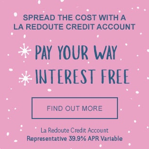 Spread the Cost of Christmas with La Redoute Credit Account