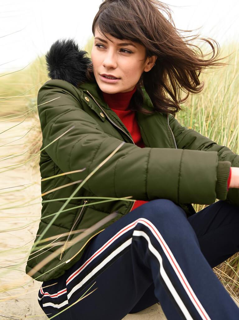Padded Coats Category Image