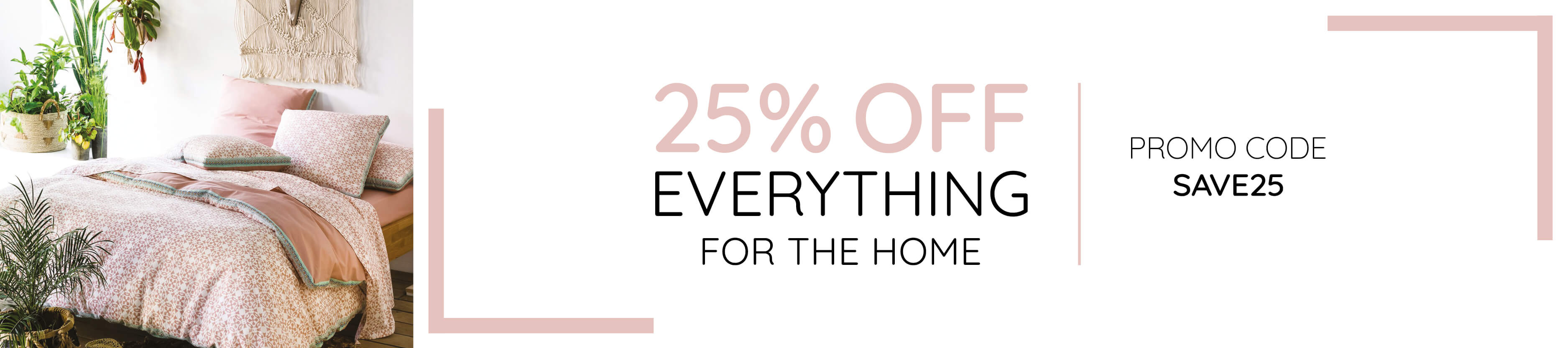 25% OFF Homeware