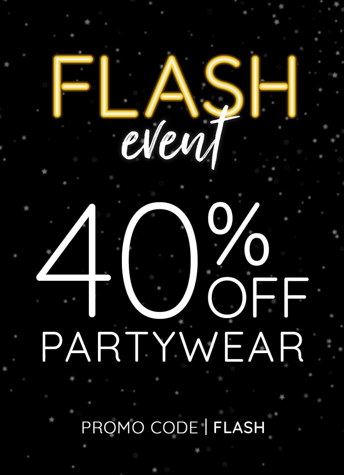 40% Off Partywear