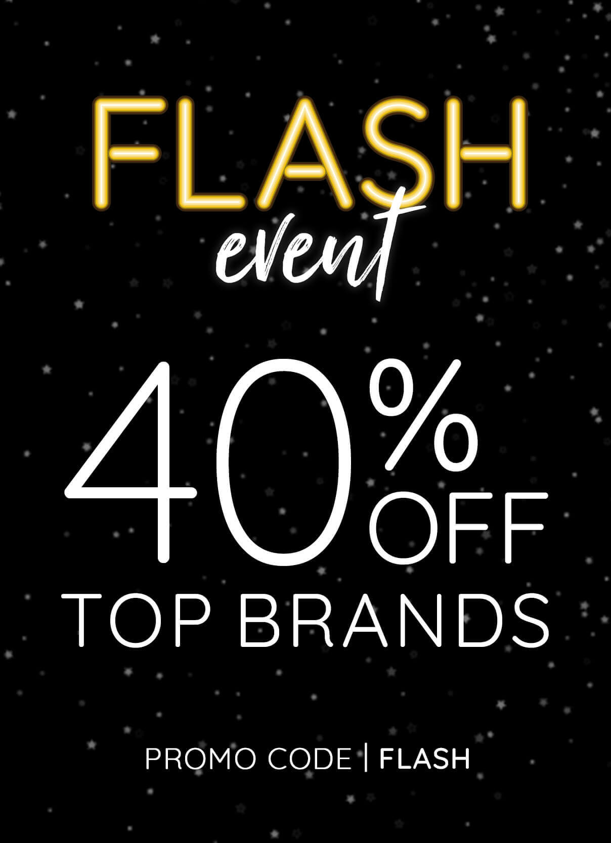 40% Off Top Brands