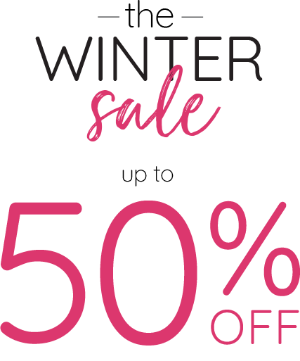 Winter Sale - Up to 50% off