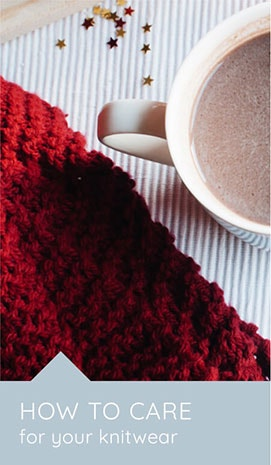 How to care for your knitwear