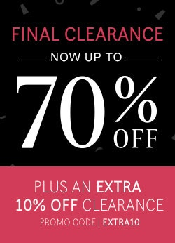 SALE - NOW UP TO 70% OFF