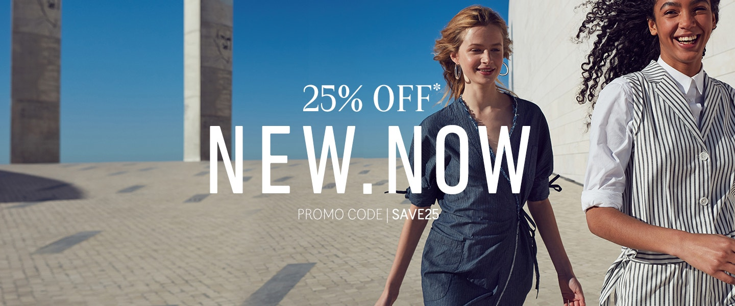 25% OFF New Now - Promo Code SAVE25