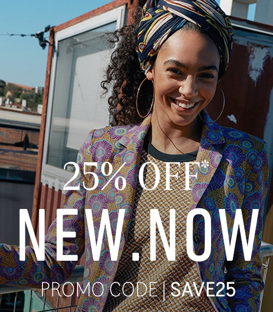 25% OFF New Now