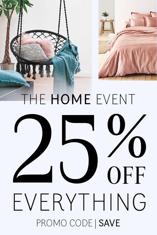 Homeware - 25% Off Everything