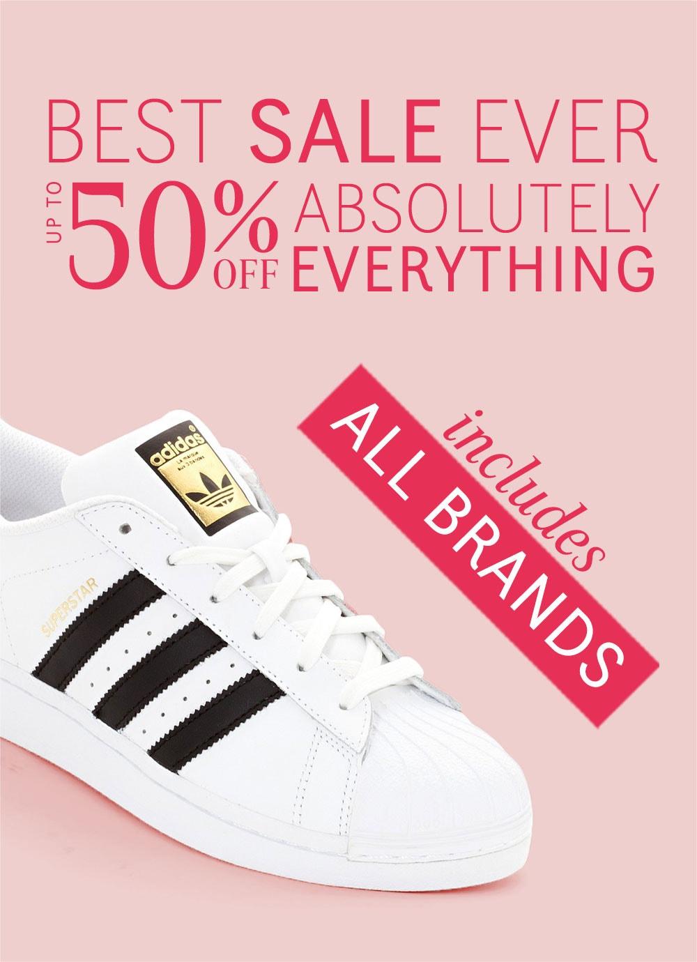50% OFF Brands