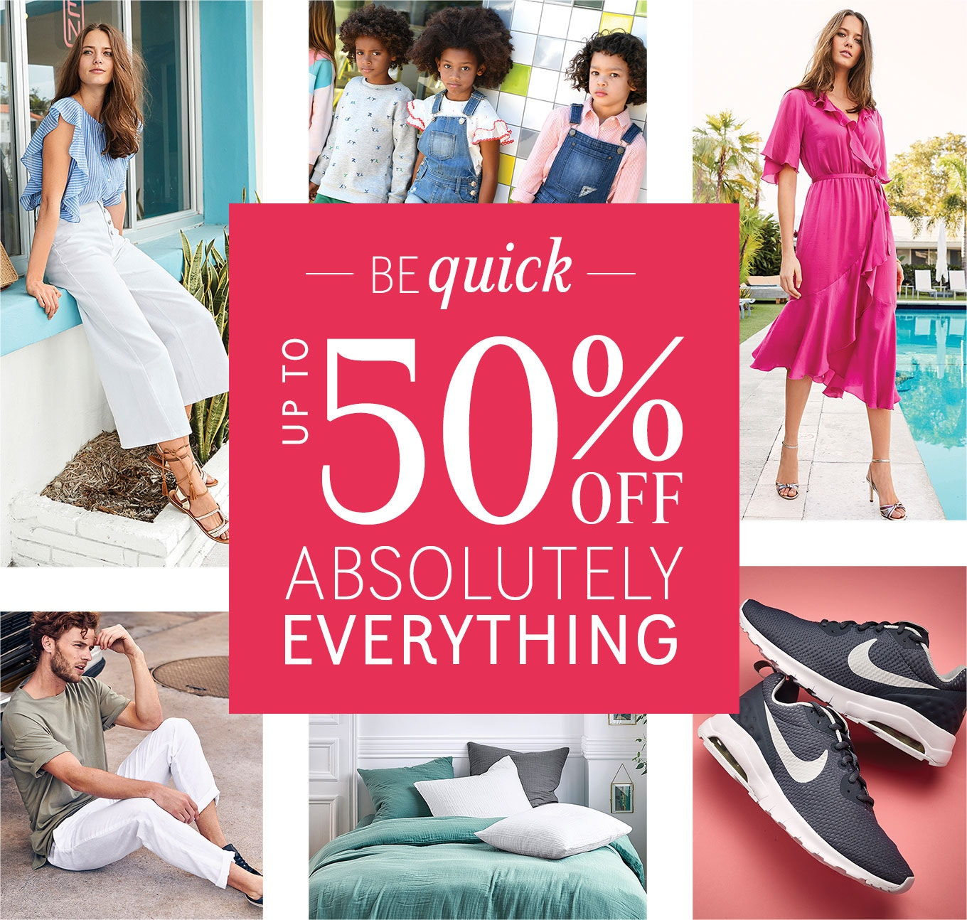 Best Sale Ever - Up to 50% Off Everything