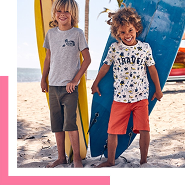 Up to 50% Off Summer Wardrobe for Kids