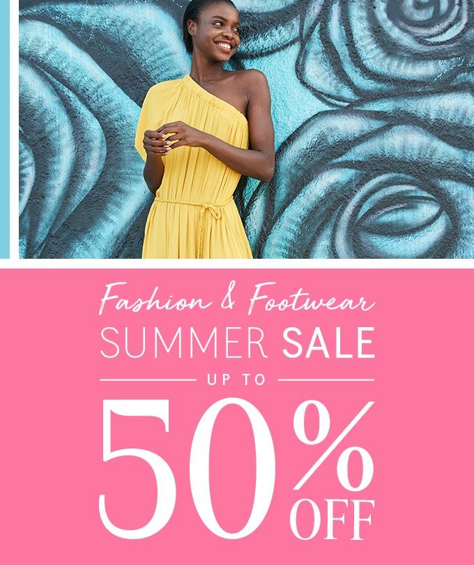Big Fashion & Footwear Sale Up To 50% Off