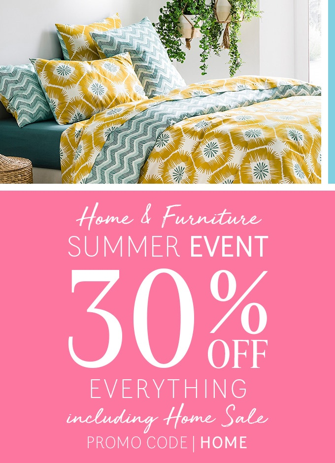 Home Event - 30% Off Everything