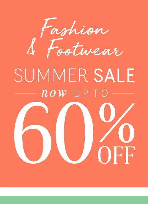 Summer Sale - Now Up to 60% Off