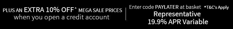 Extra 10% OFF* Mega Sale Prices