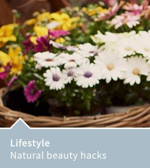 Natural beauty hacks