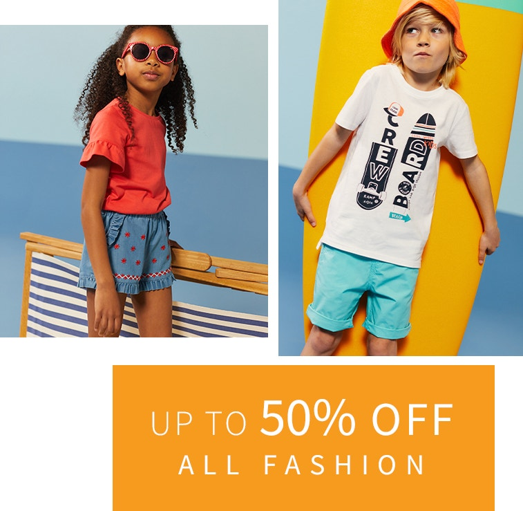 50% Off Fashion